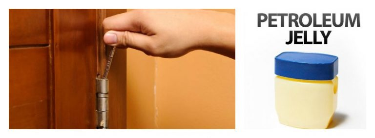 how to fix squeaky door hinge