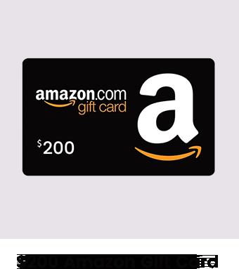 200 Amazon Gift Card