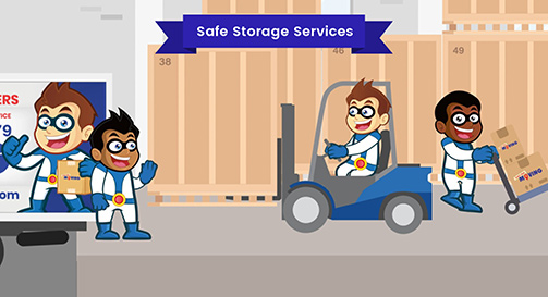 Safe Storage Services Toronto Moving